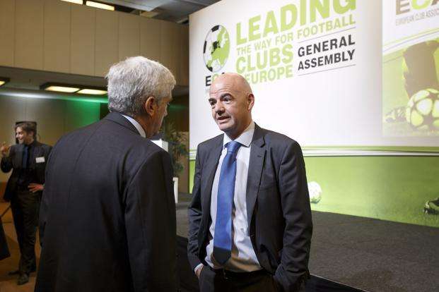 FIFA President Gianni Infantino declined to suggest if UEFA could encourage its members to skip the 2026 process with Russia hosting the 2018 World Cup.