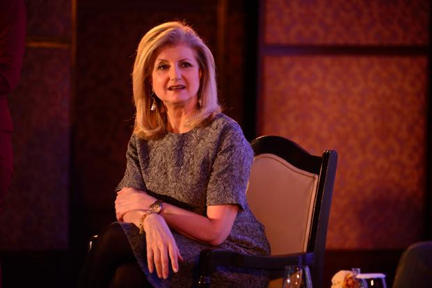 Arianna Huffington's new venture Thrive will officially launch 30 November. Photo: Pradeep Gaur/Mint