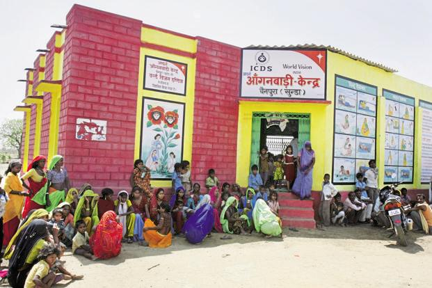 A file photo of an Anganwadi centre. Photo: Hindustan Times