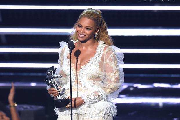 Beyonce delivered one of the most imperious, exciting and politically charged performances at MTV Video Music Awards. Photo: AP