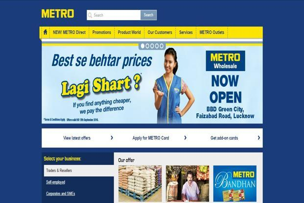 Metro Cash & Carry, which is currently operating six stores in Bangalore, three in Hyderabad, four in Punjab and two each in Delhi and Mumbai, is not looking at expanding in new regions.