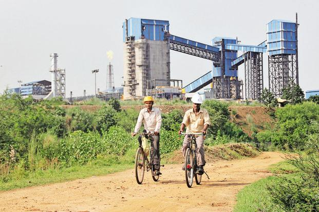 A file photo of Bhushan Steel's plant in Odisha. Photo: Reuters
