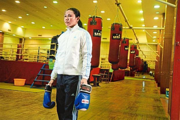 Sarita Devi at the National Institute of Sports in Patiala. Photo: Pradeep Gaur/Mint