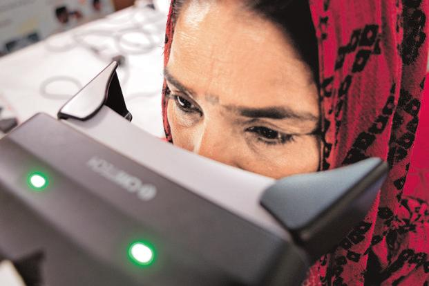 The government can now use Aadhaar to identify beneficiaries of social welfare schemes. Photo: Priyanka Parashar/Mint