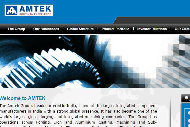 Amtek Auto had reported a net loss of Rs157.6 crore during the same period of the previous fiscal.