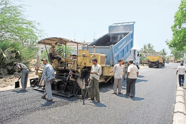 It is by far the most ambitious roads project since the previous NDA in 2001 embarked on the Golden Quadrilateral project. Photo: Mint