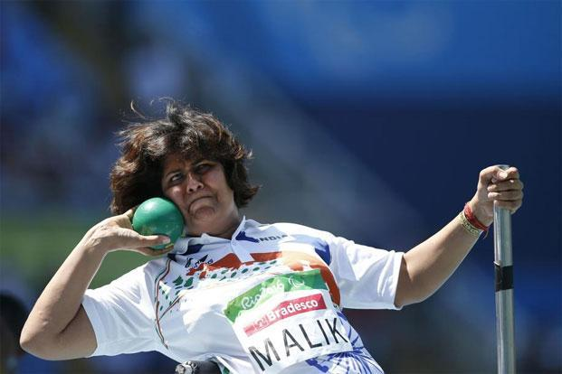 Deepa Malik at the 2016 Paralympic Games in Rio de Janeiro, Brazil. Photo: Mauro Pimentel/AP