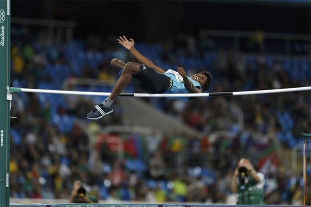 Mariyappan Thangavelu at the 2016 Paralympic Games in Rio de Janeiro, Brazil. Photo: Ricardo Moraes/Reuters