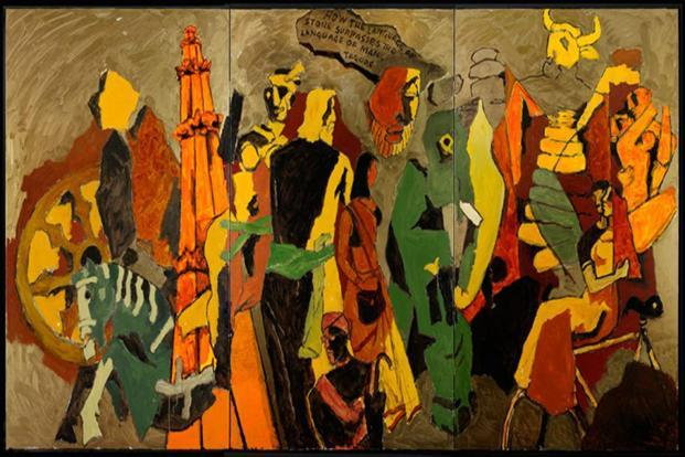 Explore the art of the late M.F. Husain at a workshop