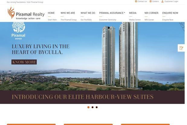 Founded in 2011, Piramal Realty is backed by private equity firm Warburg Pincus and investment bank Goldman Sachs Group Inc.