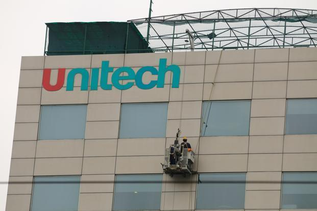 The results were announced late on Wednesday night on the NSE. Unitech's net debt as of 30 June is <span class='WebRupee'>Rs.</span>5,265 crore . Photo: Pradeep Gaur/Mint