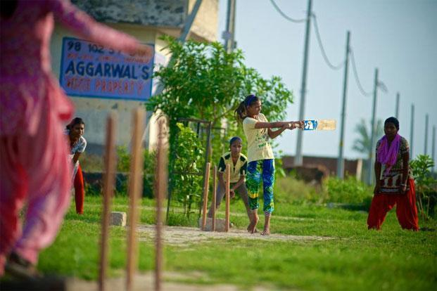 Champa Kumari, 14, is the daughter of a single mother and is the team's star.