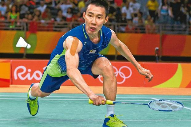 Lee Chong Wei of Malaysia. Photo: Marcelo del Pozo/Reuters