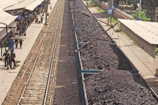 Indian Railways used about 188 trains daily in August to transport shipments for state-run Coal India Ltd, less than the 253 per day expected. Photo: Mint