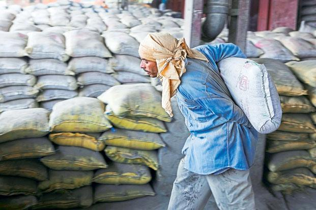While a hike in prices to cover the increase in costs is welcome, it is clearly not enough to support the record valuations of cement companies. Photo: Priyanka Parashar/Mint