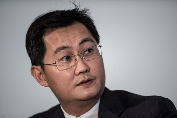 Tencent Holdings Ltd's founder Ma Huateng. Photo: AFP
