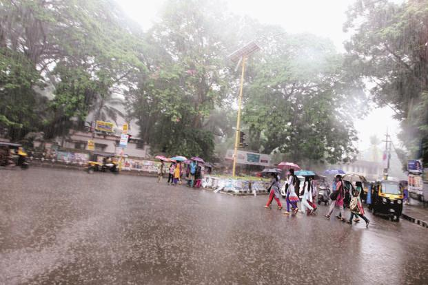 In the past two days, southern parts of Gujarat like Mahuva, Amreli and Bhavnagar have received 105mm, 96mm and 93mm rainfall, respectively. Photo: Mint