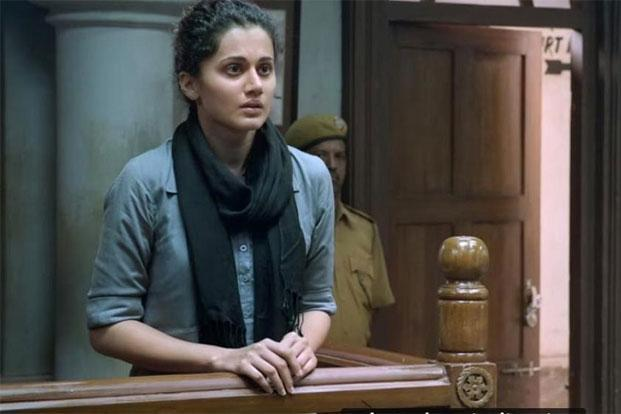 'Pink', starring Taapsee Pannu, Kirti Kulhari and Amitabh Bachchan is a social drama that plays out its relevant message through court proceedings.