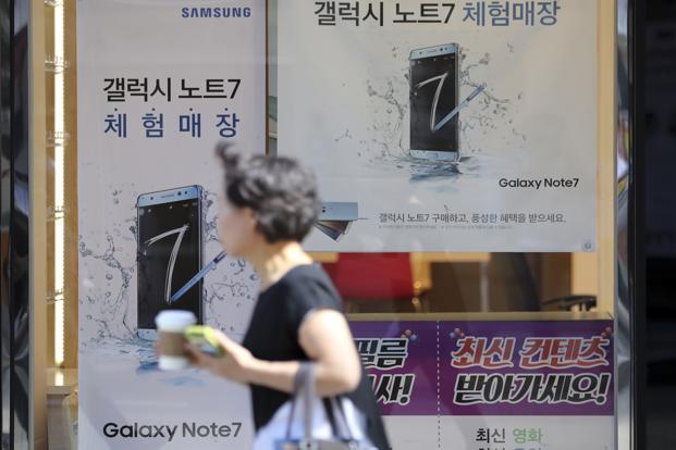 Samsung said it is investigating both reported cases in China, the world's largest smartphone market. Photo: AP