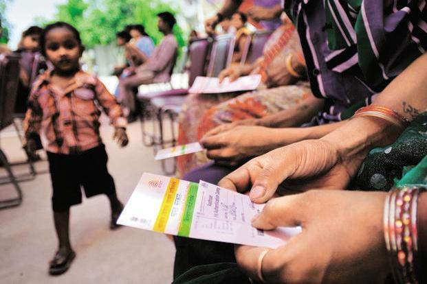 Over 1.04 billion Aadhaar numbers have been issued as of 15 August 2016. Photo: Priyanka Parashar/Mint