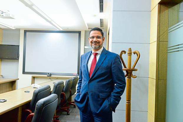 Wipro CEO Abidali Neemuchwala. For the past few years, the IT firm's growth has lagged its larger rivals. In the year ended March, the company reported a 3.7% dollar revenue growth. Photo: Hemant Mishra/Mint