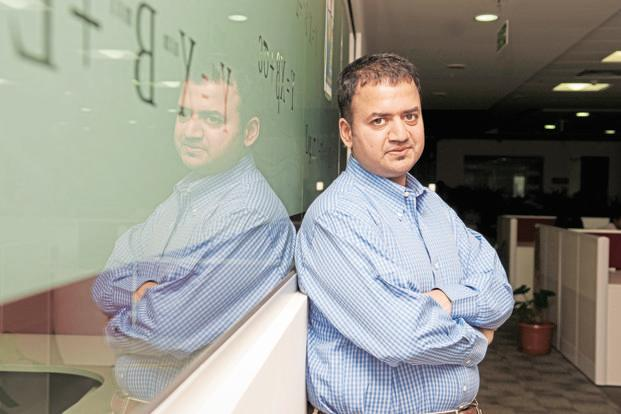 Dhiraj Rajaram, founder and chairman of Mu Sigma. Rajaram is valuing the enterprise at $800 million while Ambiga Subramanian and General Atlantic expect a valuation of $1-1.2 billion. Photo: Aniruddha Chowdhury/Mint