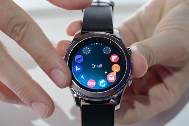 The Indian smartwatch market accounted for around 1% of the global pie in the second quarter, with 34,000 units shipped here versus 3.5 million worldwide. Photo: AFP