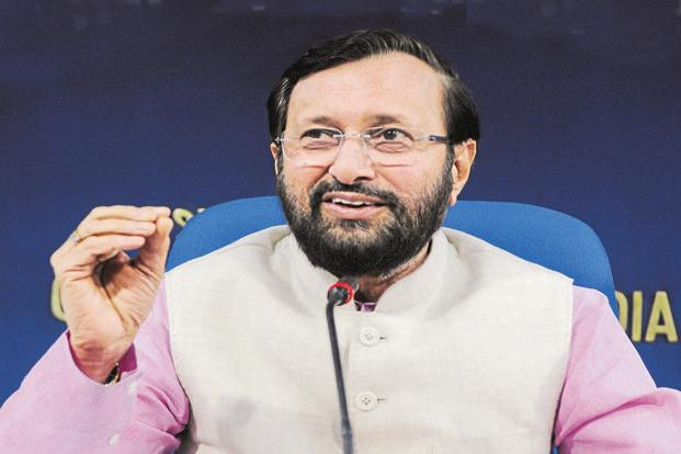 HRD minister Prakash Javadekar. The IIM bill became controversial over fears that it would erode the autonomy of these premier business schools. Photo: HT