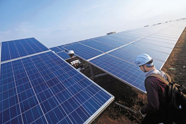 While Modi seeks 100 gigawatts of solar capacity by 2022—a target second only to China—the country's manufacturers will need to ramp-up production in order to tap into the growth. Photo: Bloomberg