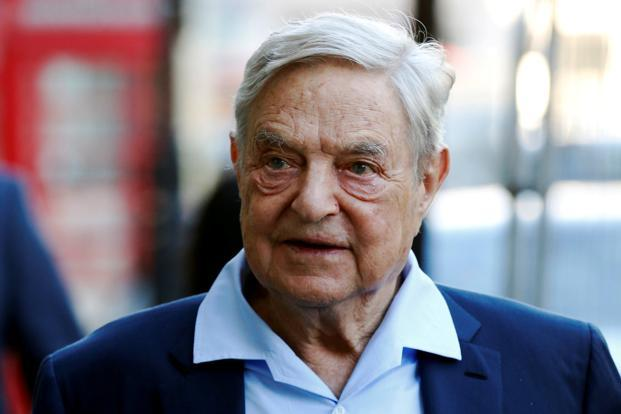 A file photo of George Soros. Photo: Reuters
