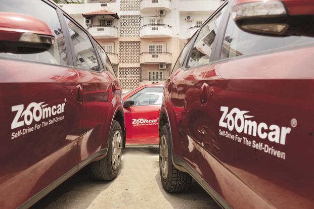 Zoomcar kicked off with seven Ford Figos and Mahindra Scorpios in Bengaluru on 14 February 2013. Photo: Hemant Mishra/Mint