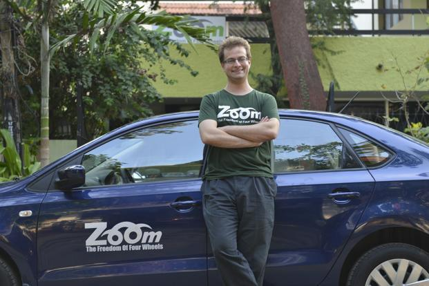 Zoomcar co-founder David Back quit the company in May 2015 for 'personal and professional reasons' and moved back to the US. Photo: Hemant Mishra/Mint