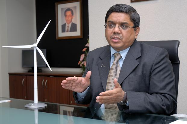 Tulsi Tanti, Suzlon CMD, says over the next five years the firm targets to build in Australia a minimum of 2 gigawatt (GW)....the total investment will be $3 billion. Photo: Mint