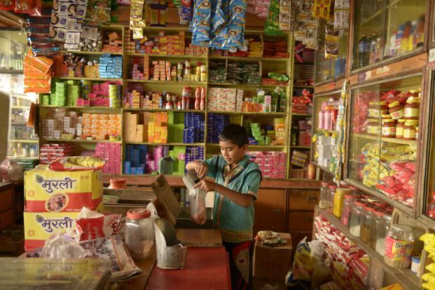 India has 9.6 million kirana retail outlets of which rural India has 6 million outlets. Photo: Mint