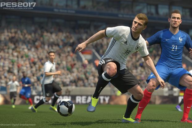 The PES 2017 looks a lot more refined than its predecessor, PES 2016. The stadiums look more colourful, player faces and physical attributes look a lot more realistic.