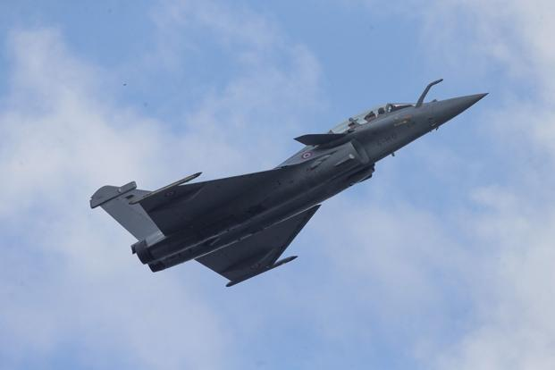 Currently being used for bombing missions over Syria and Iraq, the Rafale can fly distances of up to 3,800km. Photo: AFP