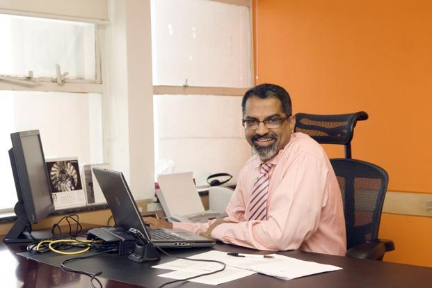 File photo.  Raju Narisetti is currently senior vice-president, strategy, of News Corp.  Photo: Ramesh Pathania/Mint