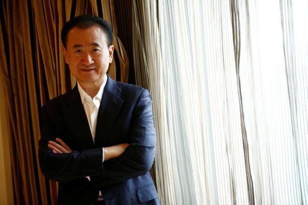 Wang Jianlin, chairman of the Wanda Group. Photo: Reuters