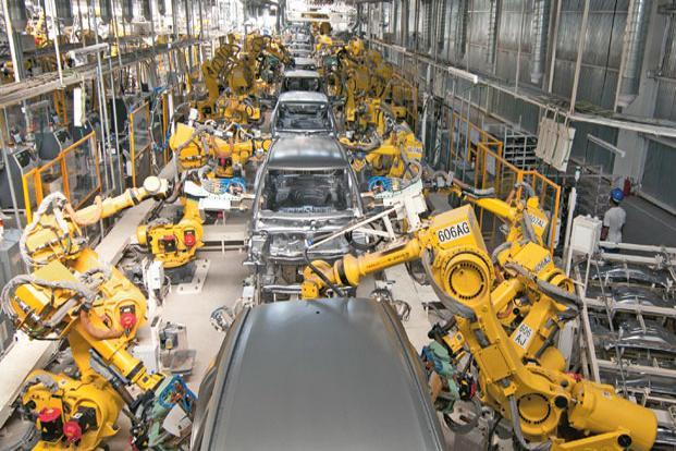 Maruti's plants are working at full capacity. With the festival season around the corner, sales growth may be limited by the fact that there is a six- eight month wait for its car models. Photo: Ramesh Pathania/Mint