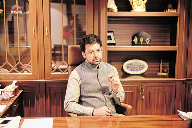 The court-appointed justice Lodha Committee moved the top court alleging that the office-bearers of BCCI, including president Anurag Thakur, did not pay heed to the recommendations.  Photo: Pradeep Gaur/Mint