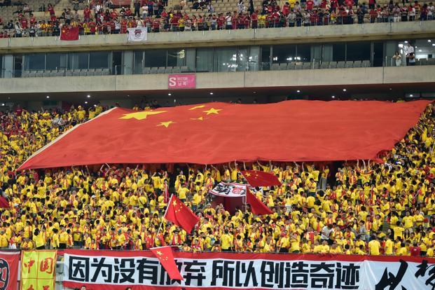 With President Xi Jinping eager to host and even win football's biggest tournament, conjecture is centring on when rather than if the World Cup will go to China. Photo: AFP