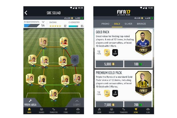 FIFA 17 Companion is an online app and takes up 37MB after installation