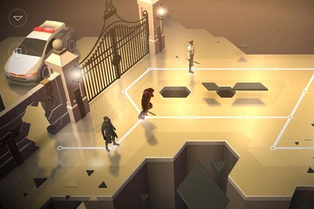 Deus Ex Go is a turn based puzzle game that works like a game of chess