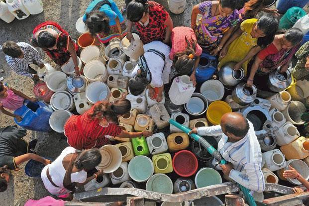 The 'business' of democracy affects India's poorest the most. Photo: Hindustan Times