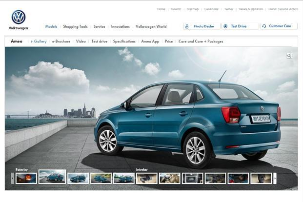 Volkswagen Launches Ameo Diesel Price Starts At Rs6 33 Lakh Livemint