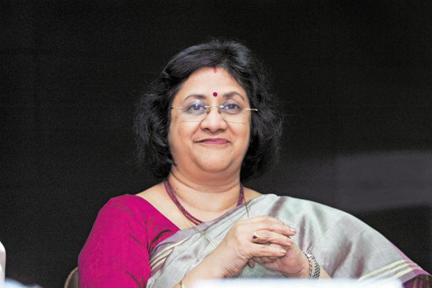 A file photo of SBI chairperson Arundhati Bhattacharya. Photo: Mint