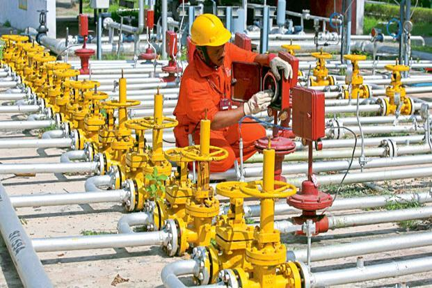 Earnings of gas producers such as Oil and Natural Gas Corp. Ltd (ONGC) and Oil India Ltd (OIL) will be adversely impacted. Photo: Reuters