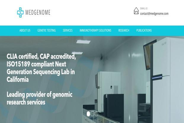 Medgenome will invest $10 million as part of its commitment in a project estimated to cost upwards of $120 million.