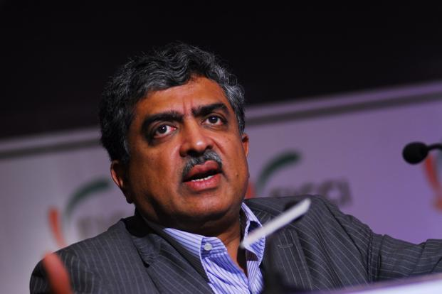 Infosys co-founder Nandan Nilekani says platforms that encourage aggregation will create news jobs. Photo: Pradeep Gaur/Mint