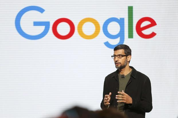 Google's Sunder Pichai. Photo:  Reuters